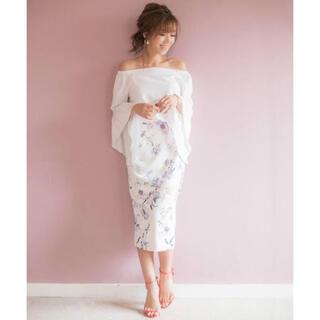 eimy istoire - エイミーイストワール water flower tight skirt