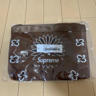 Supreme - supreme 21ss week8 ペーズリー柄 サコッシュ 茶色