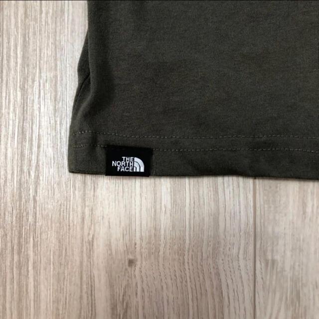 THE NORTH FACE(ザノースフェイス)のNGT394様 専用 ノースフェイス キッズ ロゴTシャツ カーキ 100cm キッズ/ベビー/マタニティのキッズ服男の子用(90cm~)(Tシャツ/カットソー)の商品写真