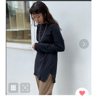 TODAYFUL - TODAYFUL トゥデイフル  Doubleface Slit Long T