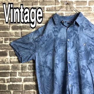 ジョージコックス(GEORGE COX)のアロハシャツ 古着 ゆるだぼ レーヨン 90s ビッグサイズ h14(シャツ)