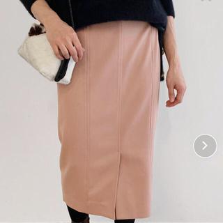 ROPE - 新品タグ付き ロペ マドモアゼル くすみピンク スカート