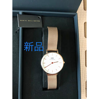 新品ダニエルウェリントン腕時計ピンクゴールド