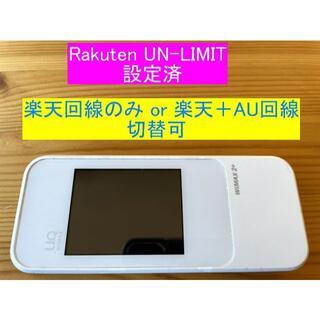 美品★楽天モバイル用ルーター★W04★Rakuten UN-LIMIT設定済13