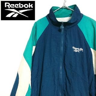 リーボック(Reebok)の90s Reebok リーボック 3色切替 ナイロンジャケット アウター(ナイロンジャケット)