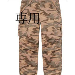 Supreme - 最安値supreme cargo pant tan camo 30