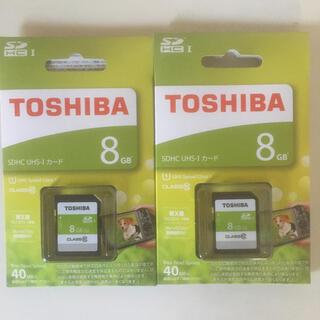 トウシバ(東芝)の東芝 SDカード 2枚セット(その他)