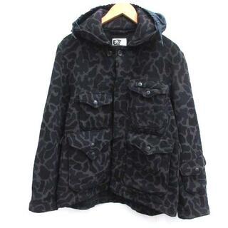 Engineered Garments - Engineered Garments XS ジャケット 迷彩 グレー 黒 紺
