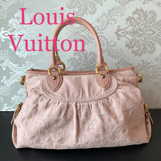 LOUIS VUITTON - 正規品 【超美品】ルイヴィトン バッグ ネオカヴィ MM デニム ピンク