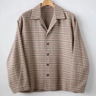 COMOLI - auralee silk summer tweed サイズ3