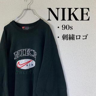 NIKE - USA製❗️ 80s NIKE プレミアム 刺繍 スウェット 激レア 希少 古着