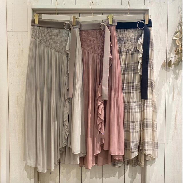 snidel(スナイデル)の❣️完売21新作正規スナイデルsnidelプリーツスカショーパン レディースのスカート(ロングスカート)の商品写真