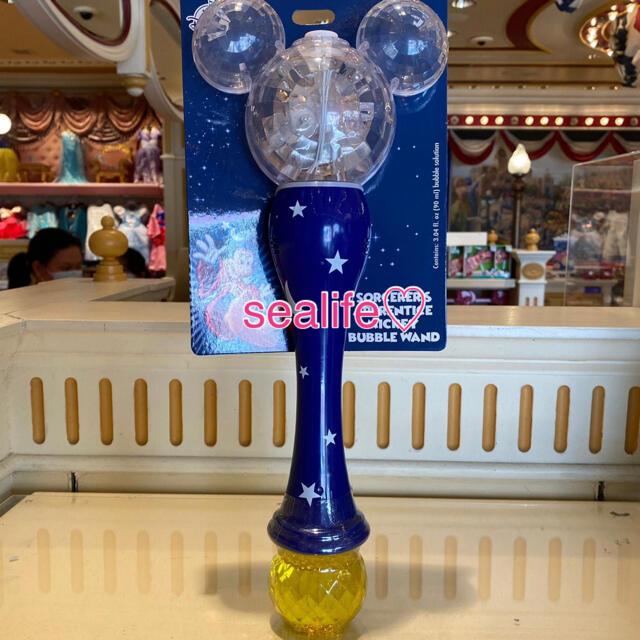 Disney(ディズニー)の香港ディズニー❣️ソーサラー ミッキー シャボン玉 マシーン♡ エンタメ/ホビーのおもちゃ/ぬいぐるみ(キャラクターグッズ)の商品写真