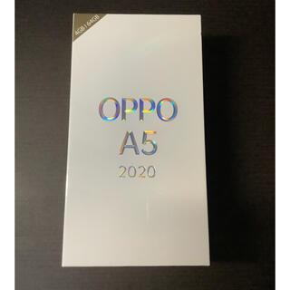 OPPO - 新品未使用 OPPO A5 2020 ブルー