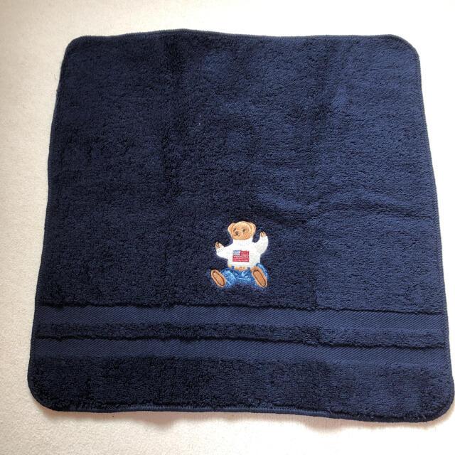 Ralph Lauren(ラルフローレン)のラルフローレン☆ポロベアウォッシュタオル2枚セット レディースのファッション小物(ハンカチ)の商品写真