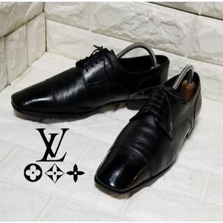 ルイヴィトン(LOUIS VUITTON)の✿Louis Vuitton ✿ストレートチップ 5.5(24.0cm)ブラック(ドレス/ビジネス)