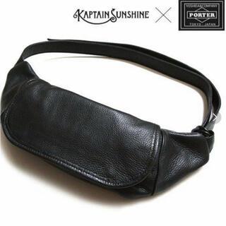 PORTER - ポーター  KAPTAIN SUNSHINE Leather Funny Bag