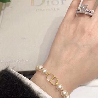 Dior - ビンテージディオールパールブレスレット