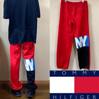 トミーヒルフィガー(TOMMY HILFIGER)の90's TOMMY HILFIGER トミーヒルフィガー ナイロンパンツ(ワークパンツ/カーゴパンツ)