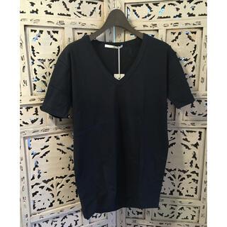 エヌフォー(N4)の新品 タグ付き N4 N1354 PLAINSTITCH V 定番T NAVY1(Tシャツ/カットソー(半袖/袖なし))