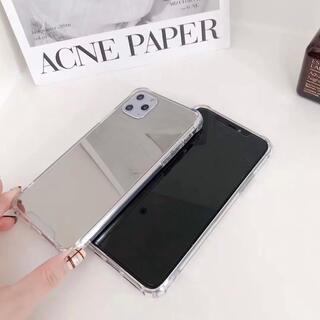 Apple - iPhone11ブラックミラーケース