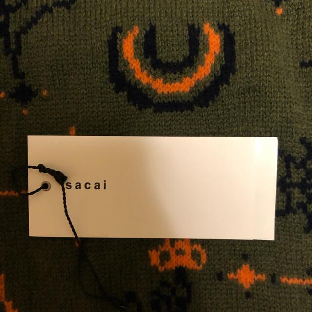 sacai(サカイ)のsacai×dr.woo ライダースニット サカイ ドクターウー メンズのトップス(ニット/セーター)の商品写真