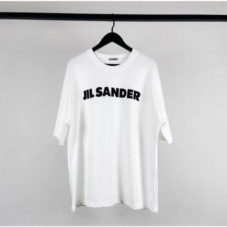 Jil Sander - サイズL  JIL SANDER ジルサンダーオーバーサイズ ロゴ Tシャツ
