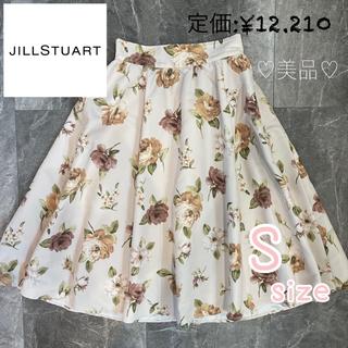JILL by JILLSTUART - <美品>早い者勝ち!JILLSTUART スカート フレア 花柄 膝丈 ジル