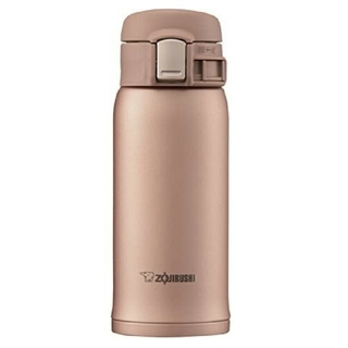象印 ステンレスボトル 0.36L マットゴールド SM-SD36-NM(水筒)