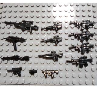 10A 互換性 インスタ映え LEGO レゴ ブロック 武器 銃 戦争 プレゼン(ミリタリー)
