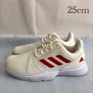 アディダス(adidas)のadidas アディダス テニスシューズ オールコート レディース 25cm(シューズ)