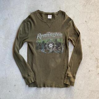 アートヴィンテージ(ART VINTAGE)のUSED Thermal Long sleeve t-shirt(Tシャツ/カットソー(七分/長袖))