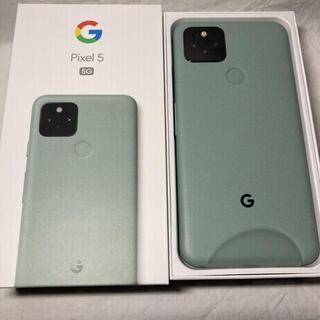 Google Pixel - 新品未使用 Google Pixel 5 128GB SIMフリー グリーン