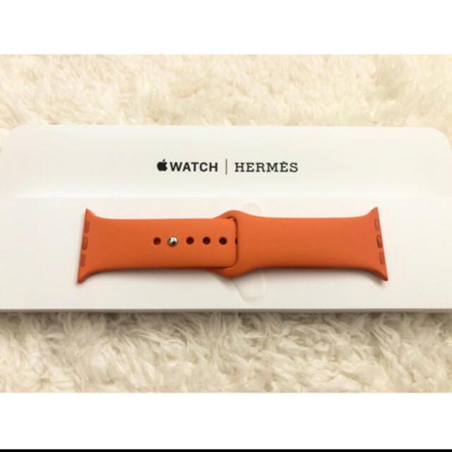 Hermes(エルメス)の新品未使用 Hermès エルメス Apple Watch バンド 40mm メンズの時計(ラバーベルト)の商品写真