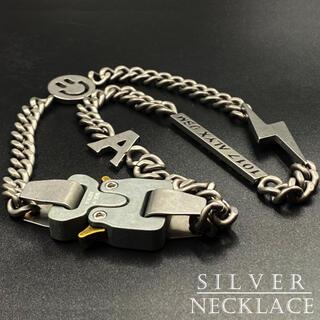 ネックレス お洒落 デザイン シルバー アクセサリー ファッション 348A F