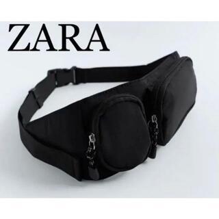 ザラ(ZARA)の6 ZARA ザラ 新品 ポケット ベルトバッグ(ボディバッグ/ウエストポーチ)