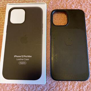 Apple - 純正 iPhone12ProMax レザーケース MagSafe