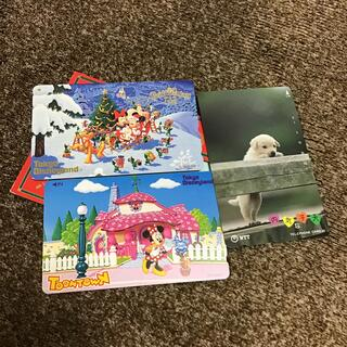 Disney - ディズニー テレホンカード   50度3枚セット