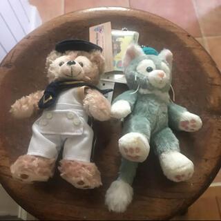 ディズニー(Disney)のDuffy キーホルダー 人形 2個セット 美品(その他)