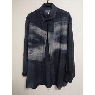 Yohji Yamamoto - ヨウジヤマモト 21ss アイプリントシャツ