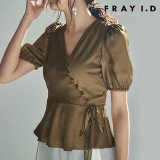 FRAY I.D - FRAY.ID サテンカシュブラウス
