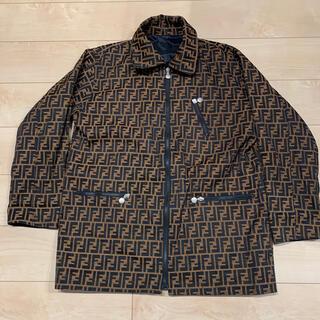 FENDI - イタリア製 FENDI ズッカ柄 リバーシブル コート ジャケット