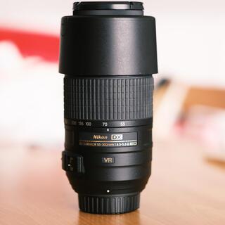 Nikon - Nikkor AF-S 55-300mm F4.5-5.6G 望遠レンズ ニコン