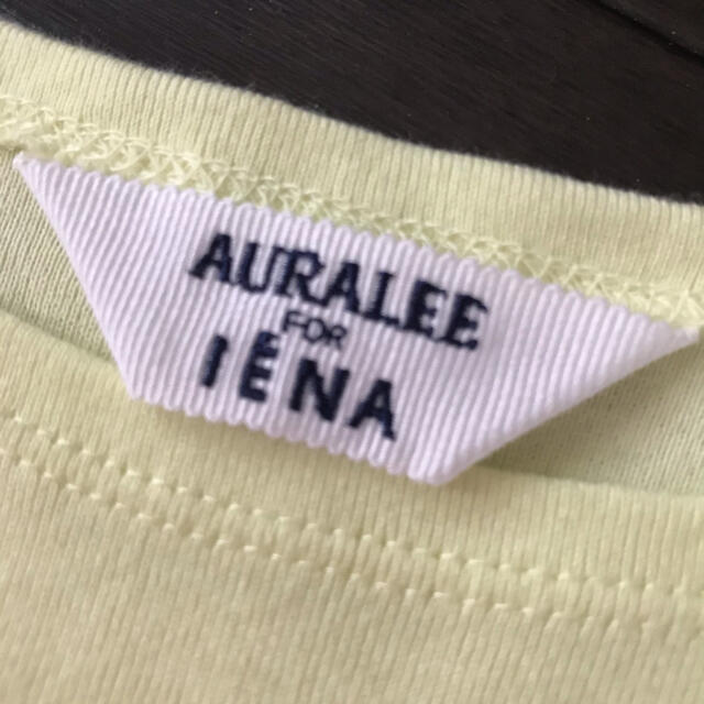 IENA(イエナ)の美品 IENA オーラリーボートネックカットソー レディースのトップス(カットソー(長袖/七分))の商品写真