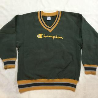 Champion - チャンピオン 90s 刺繍タグ リバースウィーブ  リブライン スウェット