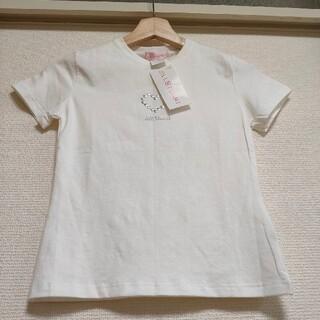 ジルスチュアート(JILLSTUART)のJILLSTUART  ◆エンブレムTシャツ  タグ付き新品 Sサイズ  ハート(Tシャツ(半袖/袖なし))