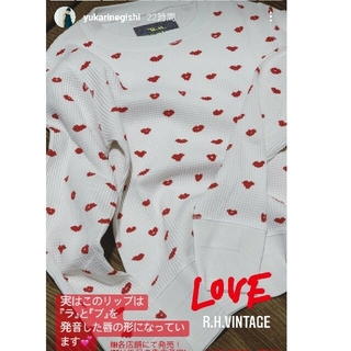 Ron Herman - 新品 ロンハーマン Vintage Love Waffle Pullover