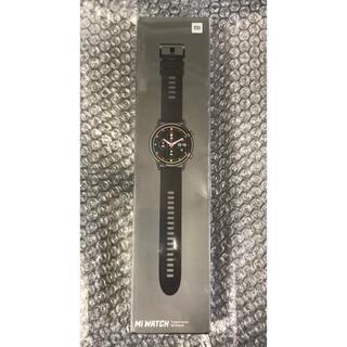 Xiaomi mi watch ブラック系カラー 新品未開封 日本語対応 ◎(腕時計(デジタル))