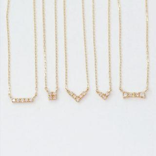 JEWELRY TSUTSUMI - k10 ダイヤモンド ネックレス