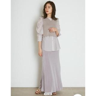 snidel - スナイデル SNIDEL カットナロースカート タグ付き